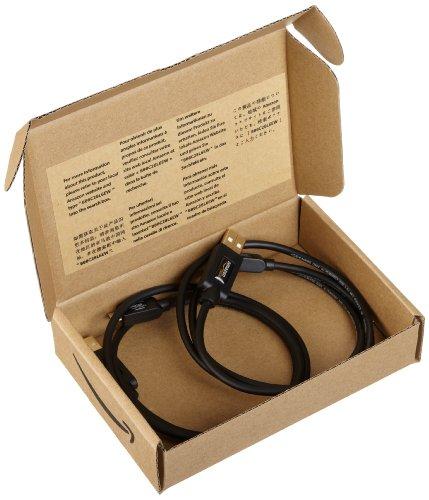 Amazonベーシック USB2.0ケーブル 0.9m 2本組 (タイプAオス- マイクロタイプBオス)