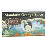 Celestial Seasonings Herb Tea, Mandarin Orange Spice, 20-Count Tea Bags (Pack of 6)
