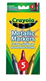 Crayola-Markers&Pens 5 Metallic Markers