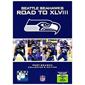 Seattle Seahawks Road to XLVIII Exclusive DVD by NFL Shop