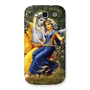 Radha Krishna Back Case Cover for Galaxy S3