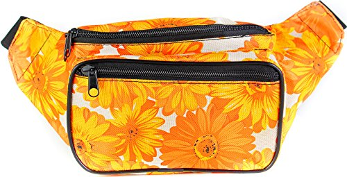 SoJourner Bags Flower Fanny Pack (yellow)