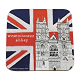 London Landmark Souvenir Coaster - Westminster Abbey