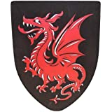 Fantasy Foam Red Dragon Shield LARP