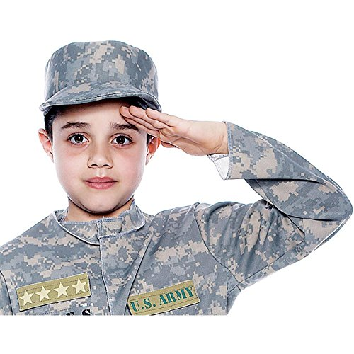 Childs Army Patrol Costume Hat