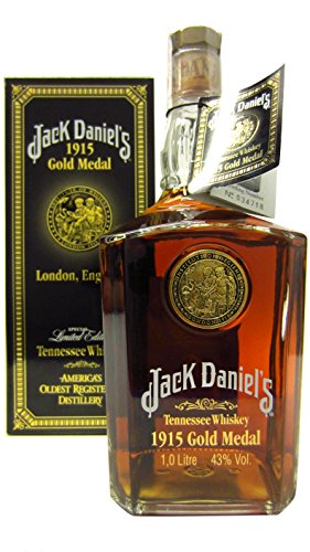 Jack Daniel discount duty free Jack Daniels - 1915 Gold Medal Limited Edition (1 Litre bottle)
