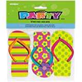 Flip Flop Notepad Party Favors, 12ct