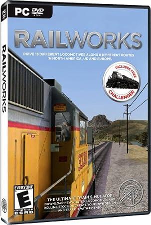 RAILWORKS TRAIN SIMULATOR (WIN 2000XPVISTAWIN 7/DVD SOFTWARE)