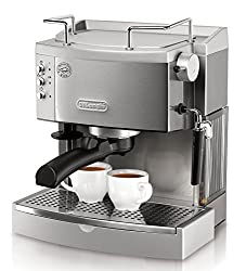 DeLonghi EC702 15-Bar-Pump Espresso Maker, Stainless made by Delonghi
