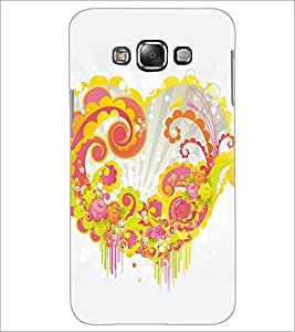 PrintDhaba Heart D-5313 Back Case Cover for SAMSUNG GALAXY GRAND 3 (Multi-Coloured)