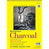 Strathmore Charcoal Paper Pad, 32 Sheets, 9 x 12-inch, White (330-9)