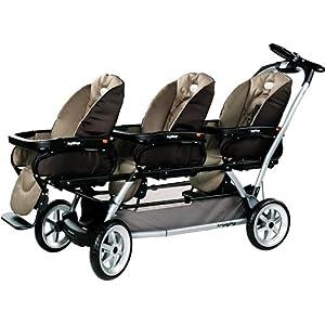 Peg Pergo Triplette SW Stroller in Moka