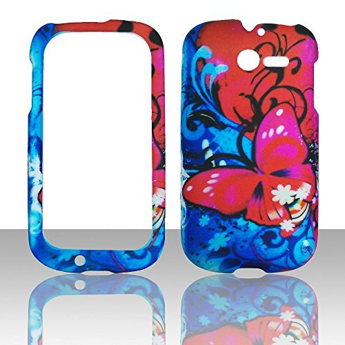 2d-pk-rot-schmetterling-huawei-ascend-y-m866-tracfone-us-cellular-schutzhulle-hard-case-snap-on-cove