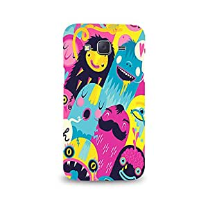 Mikzy Laughing Animated Cartoons Printed Designer Back Cover Case for Samsung J5