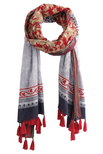 ESPRIT A15249 Women's Scarf Water Blue One Size