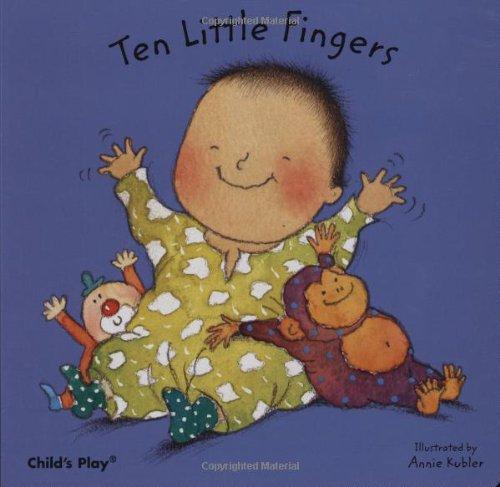 Ten Little Fingers (Board Books for Babies)