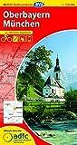 ADFC-Radtourenkarte 26 Oberbayern München 1:150.000, reiß- und wetterfest, GPS-Tracks Download und Online-Begleitheft (ADFC-Radtourenkarte 1:150000)