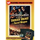 Sherlock Holmes and the Secret Weapon DVDTee (Size XL)