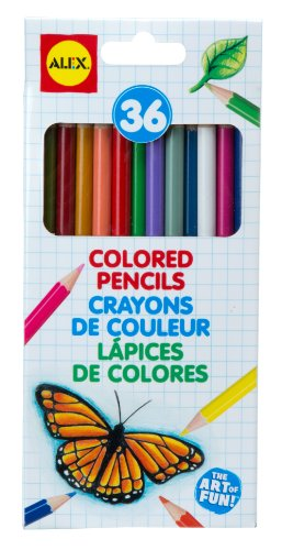 ALEX Toys Artist Studio 36 Colored Pencils