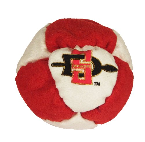 Hacky Sack - College Logo 8 Panelled San Diego State Design - 1