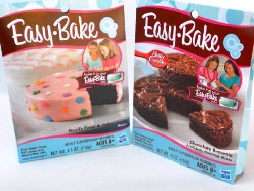 Easy Bake 2 Pk Combo Chocolate Brownie, Devil's Food & Yellow Cake mixes by Easy Bake (Easy Bake Real Meal compare prices)