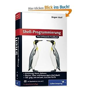 eBook Cover für  Shell Programmierung Das umfassende Handbuch Galileo Computing