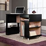 Sauder W3 Computer Desk in Wind Oak