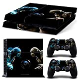 FriendlyTomato PS4 Console and DualShock 4 Controller Skin Set - Kombat Duel - PlayStation 4 Vinyl Mortal Fight