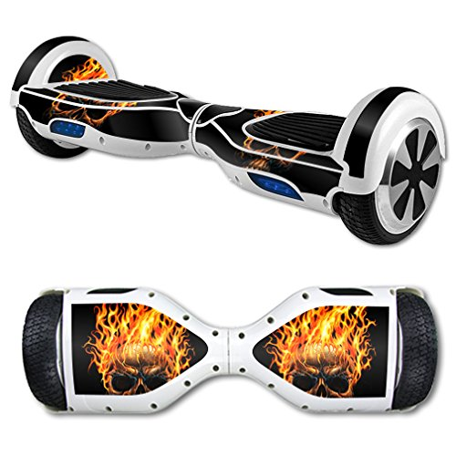 MightySkins Protective Vinyl Skin Decal for Hoverboard Self Balancing Scooter mini hover 2 wheel unicycle wrap cover sticker Hot Head