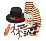 Complete Snowman Decorating Kit Everything You Need to Decorate the Perfect Snowman
