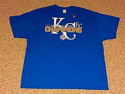 Kansas City Royals MLB 2015 American League Champions World Series Mens Tee Shirt