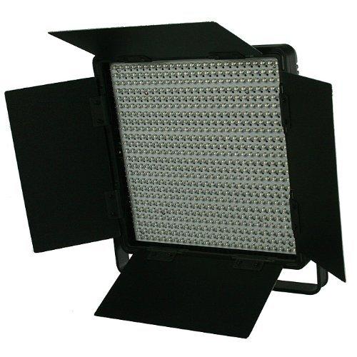 600 LED Video Lite Panel Studio Photography Lighting Sony V Mount, Dimmer Switch, 15V Output CN600SA
