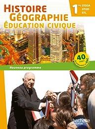 Histoire-géographie, éducation civique, 1re STD2A, STI2D, STL