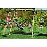 Plum Giant Baboon Wooden Garden Swing and Climbing Frame