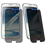 Everydaysource Compatible with Samsung Galaxy Note II N7100 Privacy Filter Screen Protector