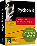 Python 3 - Coffret de 2 livres : De l...