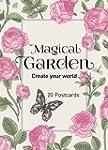 Magical Garden - 20 Postcards: Create...