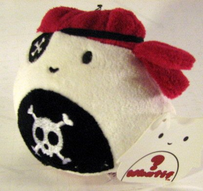 "What If I were a Pirate 4"" Plush - 1"