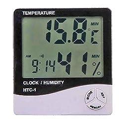 Digital Hygrometer Thermometer Humidity Meter Large LCD Display - 03