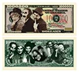 Marx Brothers Million Dollar Bill in Collector Grade Currency Holder