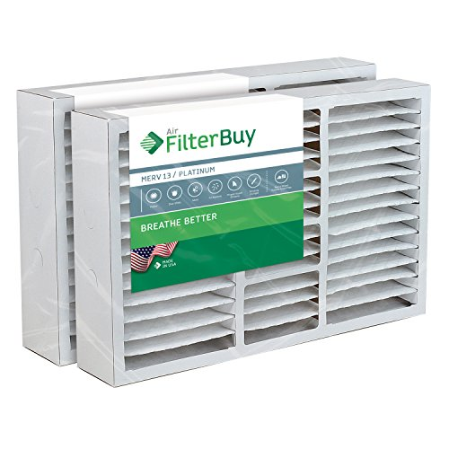16x25x5 Honeywell Aftermarket Replacement Furnace Filter / Air Filter - AFB Platinum MERV 13 (2 Pack)