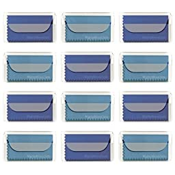 MightyMicroCloth Premium Microfiber Cleaning Cloths 12 pack each in a Travel Pouch for Eyeglasses, Computer Screens, Glasses, Lens, iPads, iPhones, Cameras, LCD TV - 7\
