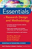 img - for By Geoffrey R. Marczyk - Essentials of Research Design and Methodology (Essentials of Behavioral Science Series) (1st Edition) (1/31/05) book / textbook / text book