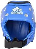 Goodwin PVC Foam Karate Head Guard, Medium (Blue)