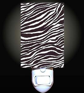 Crayon Zebra Print Decorative Night Light
