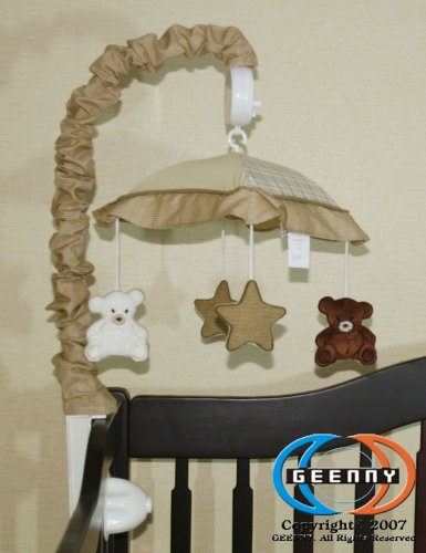 GEENNY Musical Mobile For Teddy Bear CRIB BEDDING
