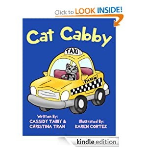 Cat Cabby - Cat Books for Kids (Picture Books for Children)
