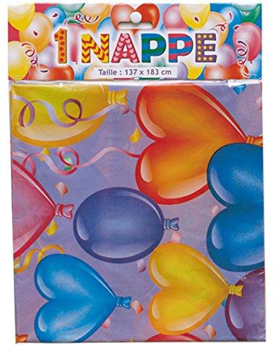 Nappe pour goûte, fête ou anniversaire - 137 cm x 183 cm