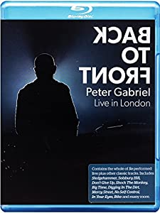 Peter Gabriel Back to Front - Live in London [Blu-ray]