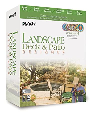 Punch Software Landscape Deck and Patio Designer 12 - Windows